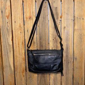 Great American Leatherworks Black Leather Bag
